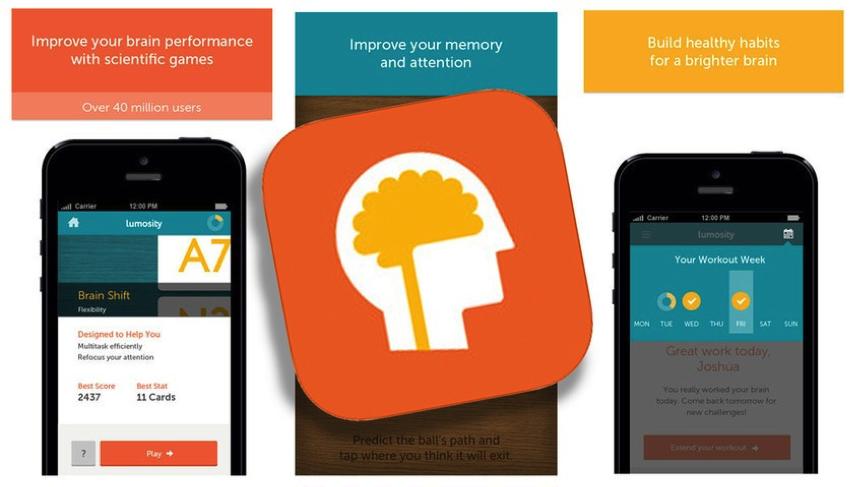 5 ứng dụng luyện não hữu ích dành cho hội não cá vàng