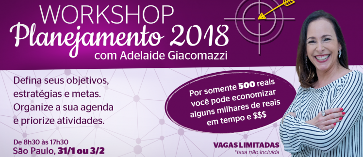 Workshop Planejamento 2018
