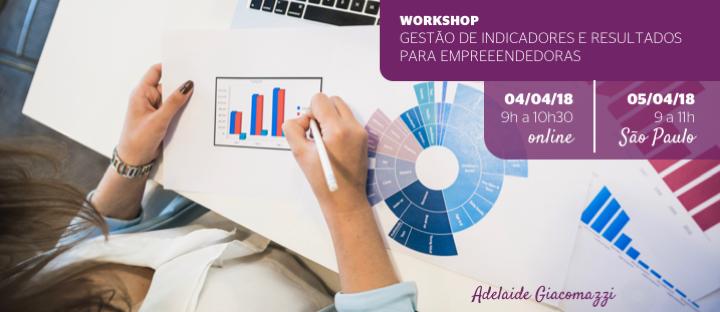 Workshop Gestão de Indicadores e Resultados